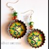 Silver nut tree earrings1.