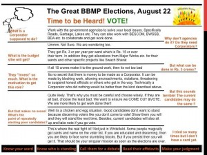 THE GREAT BBMP ELECTIONS