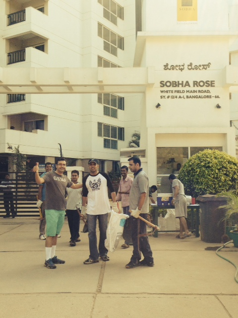 Shobha Rose Entrance and Public Space gets a makeover