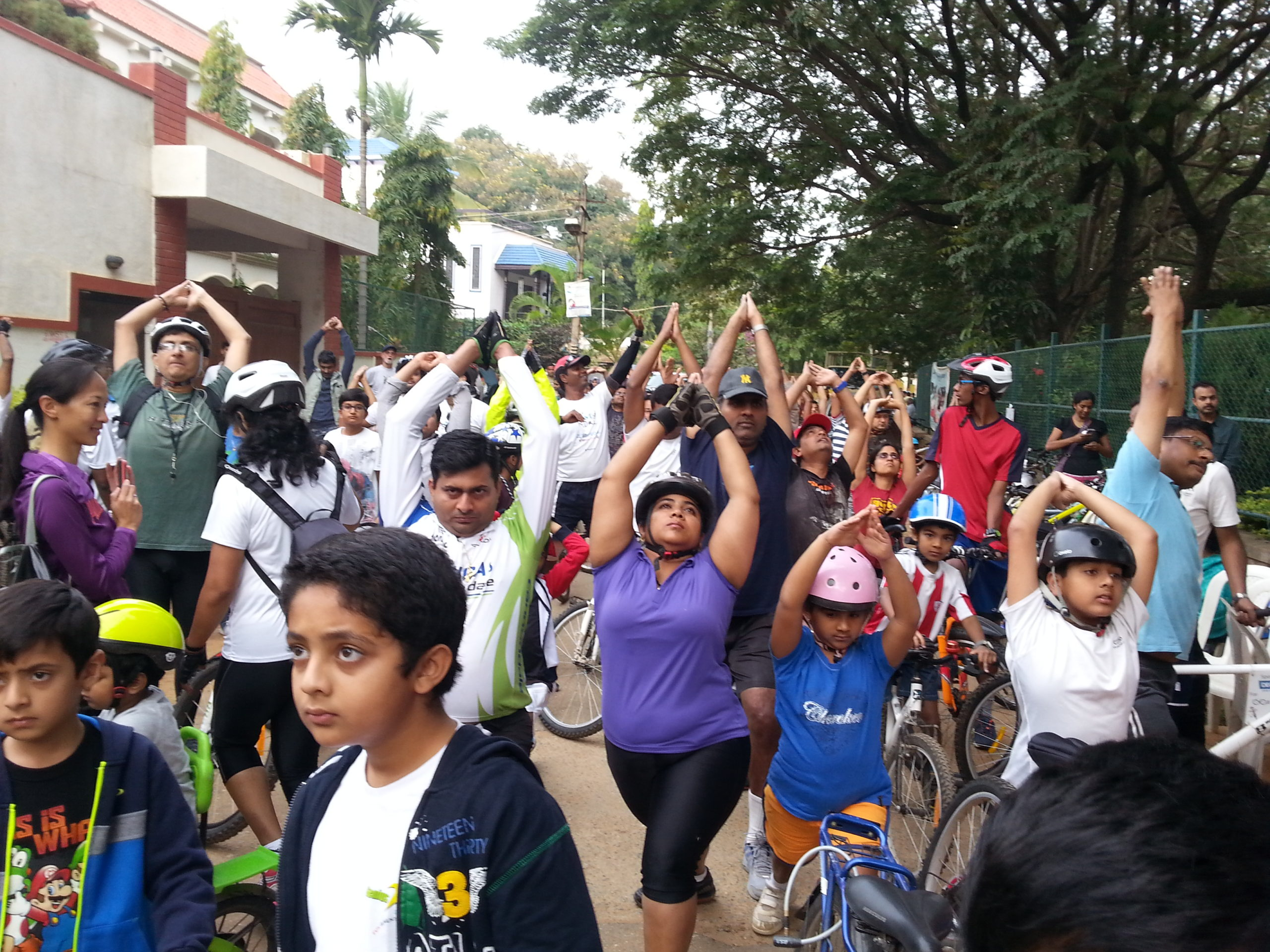 Cycle Day starts in Whitefield