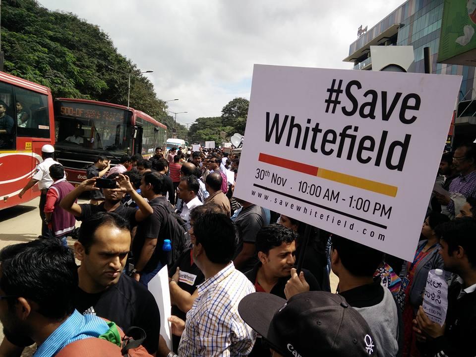 #SaveWhitefield