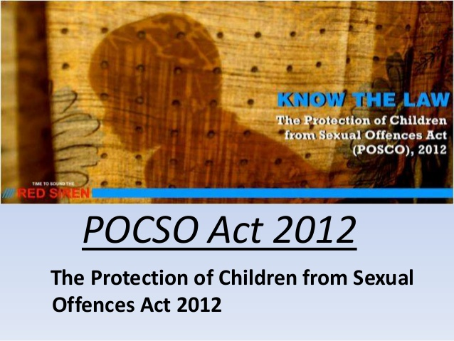 POCSO & why you should be aware