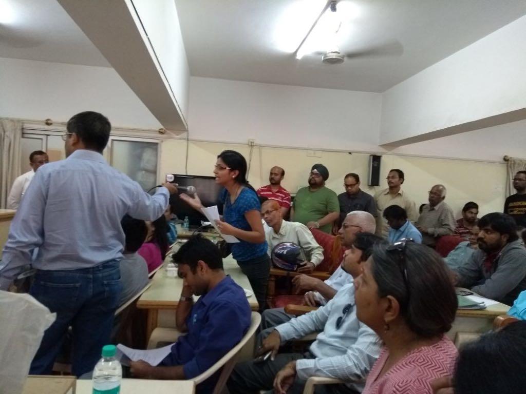 A true citizen rising Khata meeting