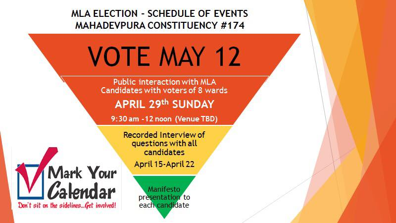 Public interaction with MLA candidates