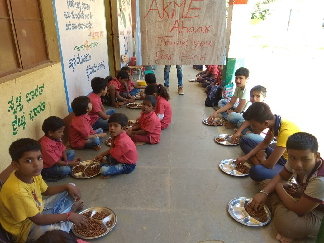 Breakfast at Samriddhi Trust's Bridge School