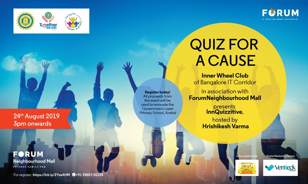 Quiz Contest: INNQUIZZITIVE  Aug 24th 2019