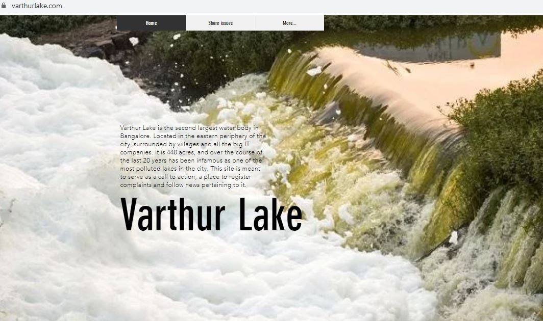 VarthurLake.com, a citizen led effort to sage guard and rejuvenate